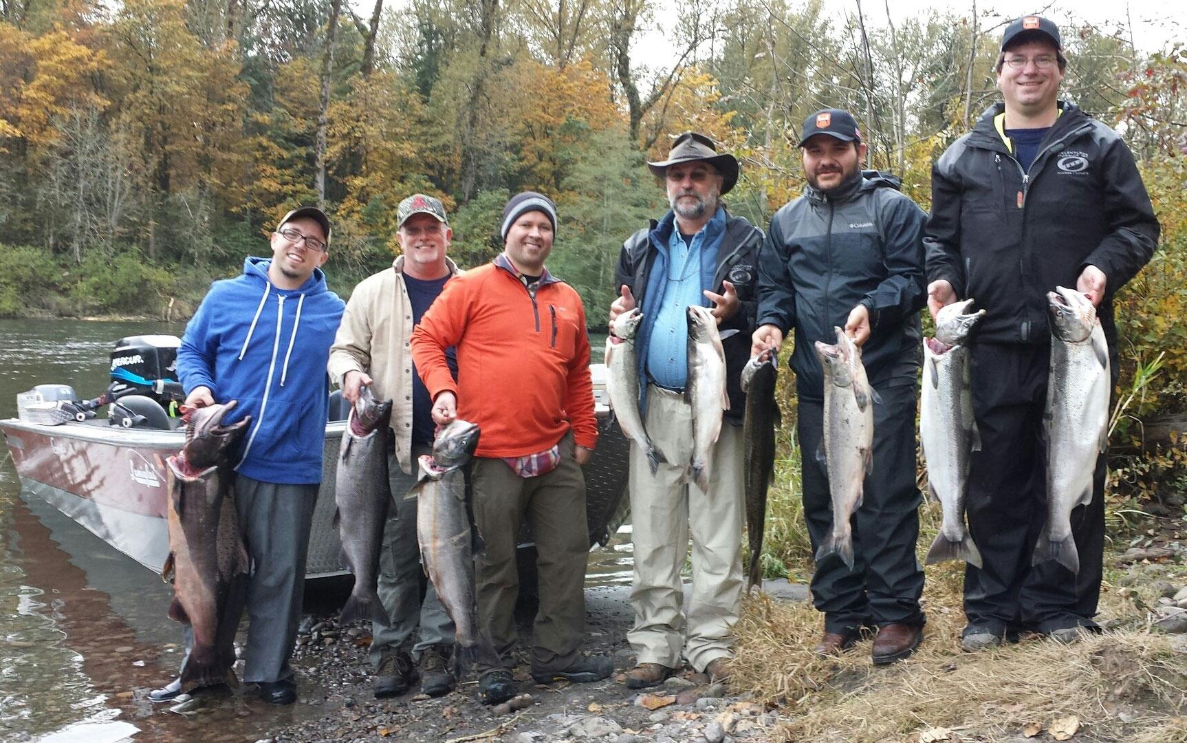Columbia river fishing guides washington fishing guides for Fishing columbia river